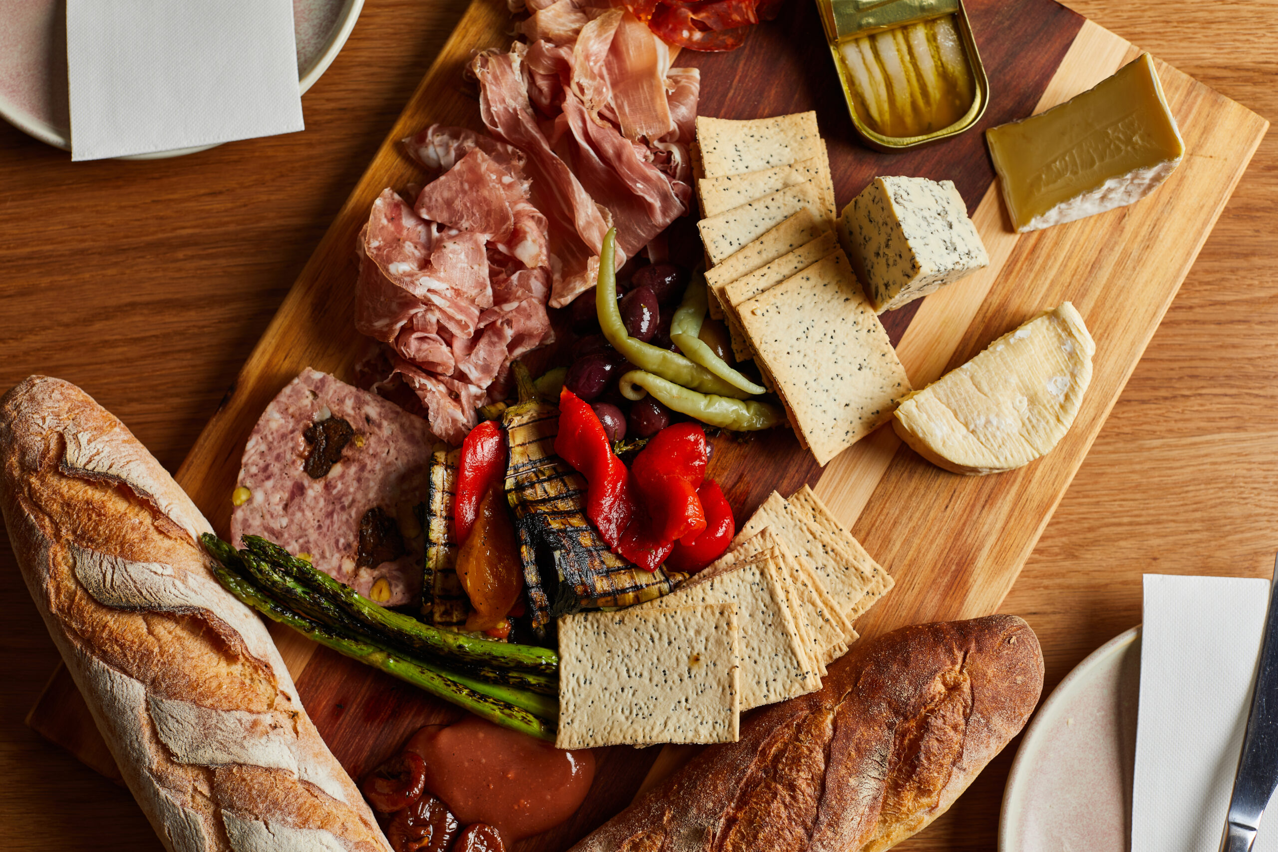 Antipasto selection from Little Prince Wine